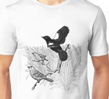 Wind in the Rushes. Color Project.  Unisex T-Shirt