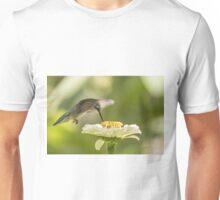 Ruby Throated Hummingbird 2016-8 Unisex T-Shirt