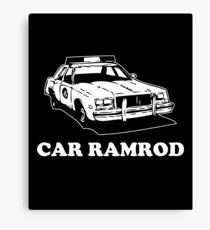 Car Ramrod - Super Troopers Canvas Print