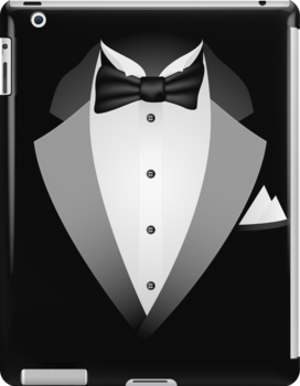 Tuxedo Suit iPad Case  Prints /  iPhone 5 Case / iPhone 4 Case  / Samsung Galaxy Cases  / Pillow / Tote Bag / Duvet by CroDesign