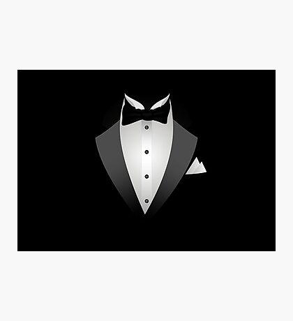 Tuxedo Suit  Photographic Print