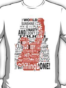 Keep moving forward! T-Shirt