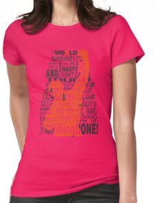 Keep moving forward! Womens Fitted T-Shirt
