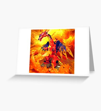 Megatron Volcanic Greeting Card
