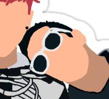 Tyler and Josh Skeleton Jackets Sticker