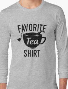 Favorite Tea Shirt Long Sleeve T-Shirt
