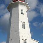 Peggy's Cove Lighthouse by Leanne Davis