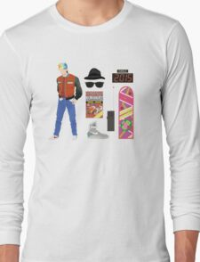 Back to the Future : Time Traveler Essentials 2015 Long Sleeve T-Shirt