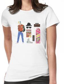 Back to the Future : Time Traveler Essentials 2015 Womens Fitted T-Shirt