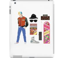 Back to the Future : Time Traveler Essentials 2015 iPad Case/Skin