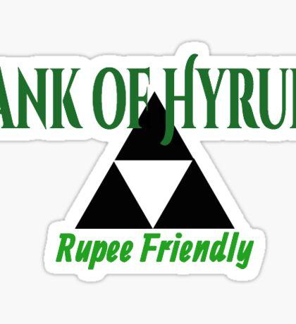 Rupee Banking Sticker