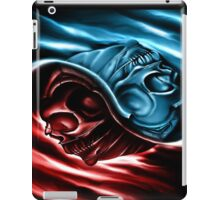 The two races iPad Case/Skin