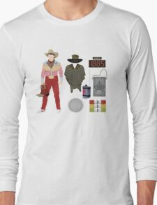 Back to the Future : Time Traveler Essentials 1885 Long Sleeve T-Shirt