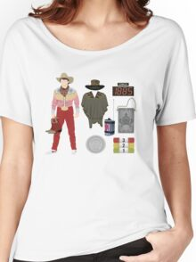 Back to the Future : Time Traveler Essentials 1885 Women's Relaxed Fit T-Shirt