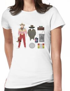 Back to the Future : Time Traveler Essentials 1885 Womens Fitted T-Shirt