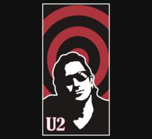U2 - Portrait of Bono by bexish