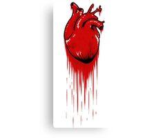 My Bloody Hearth Canvas Print