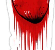 My Bloody Hearth Sticker