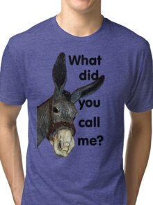 What did you call me? Tri-blend T-Shirt