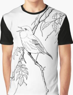 I'm Just A Lonely Bird.  Color Project.  Graphic T-Shirt