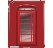 London Red Phone Booth Box  iPad Case/Skin