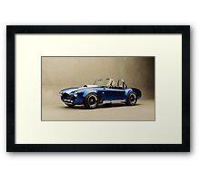Ford Shelby Cobra Framed Print