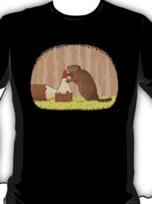 The Beaver And The Color In The Forest T-Shirt