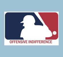 Offensive Indifference: Baseball Lexicon Kids Clothes
