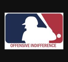 Offensive Indifference: Baseball Lexicon One Piece - Long Sleeve
