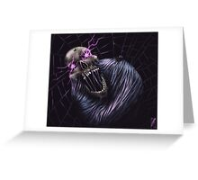 Torment of the Spider King Greeting Card