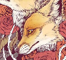 Red Fox Bloom by Kellie Lamphere