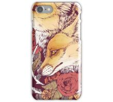 Red Fox Bloom iPhone Case/Skin