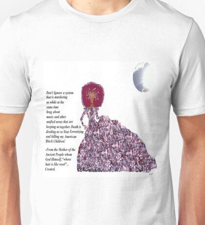 Earth Mother Speaks by LadyT Designs Unisex T-Shirt