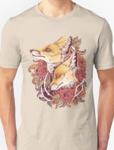 Red Fox Bloom T-Shirt