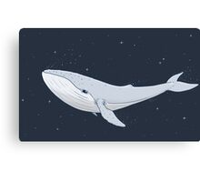 The Whale In The Night Canvas Print
