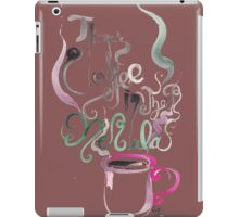 There's Coffee In That Nebula iPad Case/Skin