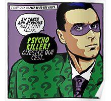 Post-Punk Psycho Poster