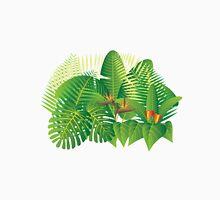 Tropical Jungle Plants Illustration Unisex T-Shirt