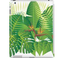 Tropical Jungle Plants Illustration iPad Case/Skin