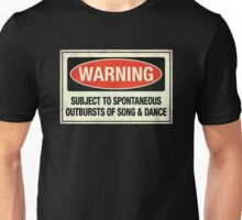 Subject to song & dance Unisex T-Shirt