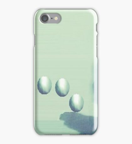 Shadow World Green by LadyT Designs iPhone Case/Skin