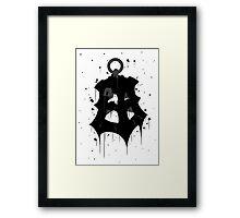 Thresh Lantern Ink Framed Print