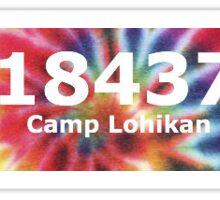Camp lohikan  Sticker