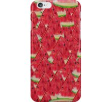 Water, Watermelon iPhone Case/Skin