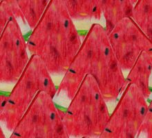 Water, Watermelon Sticker