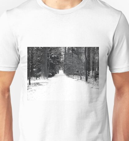 Lonely Cold Road  Unisex T-Shirt