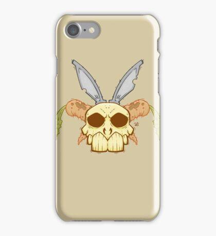 Old Rabbit Skull iPhone Case/Skin
