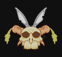 Old Rabbit Skull Kids Tee