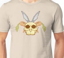 Old Rabbit Skull Unisex T-Shirt