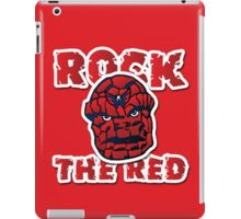 Rock the Red! Literally! iPad Case/Skin